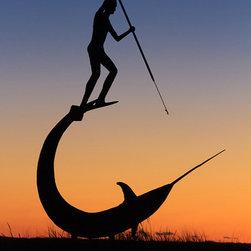 Menemsha Sword Fishing Sunset Photo Print -