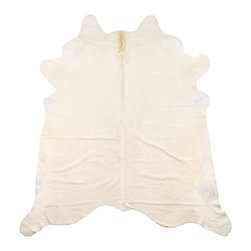 gaucho - cowhide rug - No home is complete without a cream cowhide rug. Perfect for your home office or bedroom.