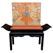 Asian Indoor Pub And Bistro Tables by Beth Connolly