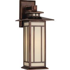 Craftsman Outdoor Wall Lights And Sconces by Masins Furniture