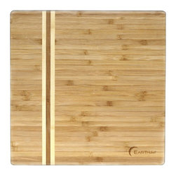 BergHOFF - BergHOFF Medium Bamboo Cutting Board Light Brown - 3600473 - Shop for Cutting Boards from Hayneedle.com! Enjoy cutting or chopping on this elegantly styled superior quality chopping board. The BergHOFF Medium Bamboo Cutting Board is designed to make working in the kitchen easier. Moreover the board features attractive style details. It's made from bamboo treated with food grade mineral oil which makes it perfect for light chopping and cutting. As bamboo grows faster this chopping board is also an eco-friendly alternative to traditional wooden cutting boards.