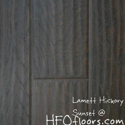 Lamett Hickory - Lamett Hickory, Sunset laminate. Available at HFOfloors.com.