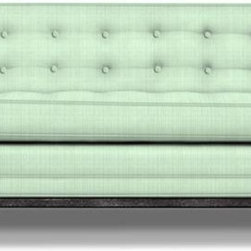 Jonathan Adler Lampert Sofa - Sit pretty on this remarkable and supremely attractive sofa.