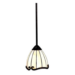 TIFFANY - TIFFANY Clarice Tiffany Transitional Mini Pendant Light X-61256 - This transitional mini Tiffany pendant light by Kichler Lighting gives you unrivaled elegance while offering classic style for modern homes. Its hand formed steel frames and antique look are sure to a great addition where mini pendant lighting is needed!