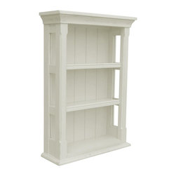 EuroLux Home - New Wall Cabinet White/Cream Painted - Product Details