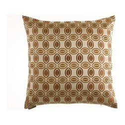 D.V. KAP Home - Puzzle 24 x 24 Decorative Pillow - -24x24 zippered removable cover  -Comes with Feather/Down insert  -Spot or dry clean D.V. KAP Home - 2067