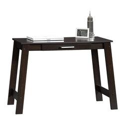 Sauder - Sauder Beginnings Writing Table in Cinnamon Cherry - Sauder - Writing Desks - 410421