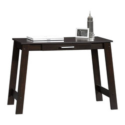Sauder - Sauder Beginnings Writing Table in Cinnamon Cherry - Sauder - Writing Desks - 410421
