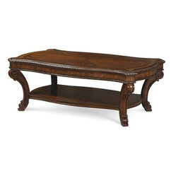 A.R.T. Furniture Old World Rectangular Cocktail Table