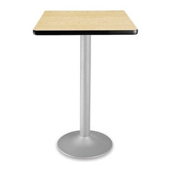 OFM - OFM 24 Square Folding Cafe Table, Oak - OFM CFT24SQ 24 square table looks elegant in both lunch and meeting rooms and looks great with the new Star and Moon series chairs. The banding makes the edges smooth and gives it a finished appearance.