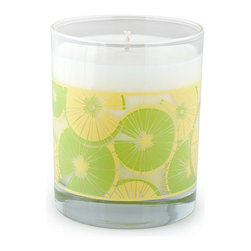 Crash - Lime & Lemon, A Blend Of Grapefruit, Persimmon And Lime Candle - Modern design and fragrance in a timeless product. Experience functional art in your home, exclusively from Crash. This candle is fragranced with a blend of Grapefruit, Persimmon, Lime, Orange, Peach, Pineapple, Rose, Jasmine and Orange Flower.