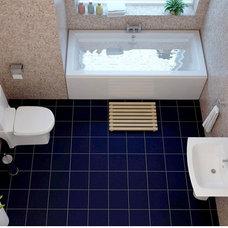 Modern Bathroom Vanities And Sink Consoles Sorea Cubic Complete Bathroom Suite