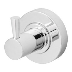 Speakman - Speakman Neo Collection Robe Hook in Polished Chrome - Designed with smooth details and sharp edges, Speakman's Neo Collection brings sleek style to the modern bathroom. This robe hook offers the same respected durability that comes with the Speakman name. Each robe hook is easy to install, and is available in Polished Chrome and Brushed Nickel to fit any bathroom decor