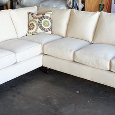 Traditional Sectional Sofas by Barnett Furniture