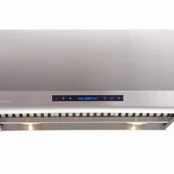 Cavaliere - Cavaliere AP238-PS83 Under Cabinet Range Hood - Cavaliere Stainless Steel 360W Under Cabinet Range Hood with 4 Speeds, Timer, LCD Keypad,