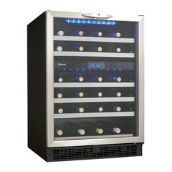Danby - 51-Bottle, Built-in or Freestanding Wine Cooler - -51 bottle (5.1 cu.ft.) capacity