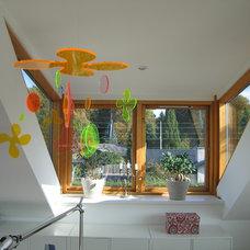 Contemporary Family Room livingroom