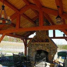 Timber Frame Gazebos Bridges Pavilions Outdoor Structures Barns Additional Image