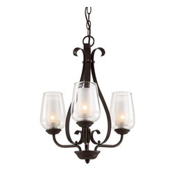Trans Globe Lighting - Trans Globe Lighting 70387 ROB Chandelier In Rubbed Oil Bronze - Part Number: 70387 ROB