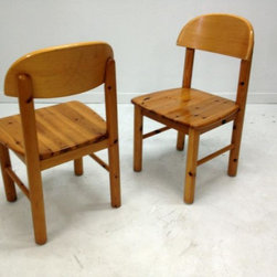 Mid Century Consignments Dallas - Set of 10 German pine chairs - will divide. Very strong and sturdy. $110 each