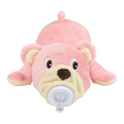 Bottle Pets - Bottle Pets, Pink Bear - Bottle Pets are stuffed animal baby bottle covers designed to make bottle feeding fun! These plush little animals help babies bottle feed by giving them something soft to hold. Bottle Pets are also fun to play with even when it's not meal time! They're great absolutely any time.
