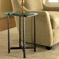 Nash Rectangular Drink Table by Charleston Forge -