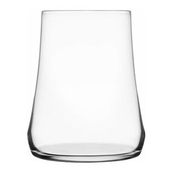 Iittala - Marc Newson Glass, Set of 2, 15.75 Oz. Clear - Bottoms up — and you can take that literally. This cool-looking glass, tapered at the top and big around the bottom, is bound to be a conversation starter at your table.