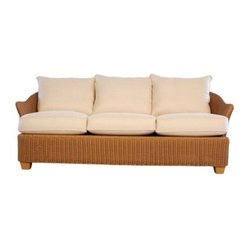 Lloyd Flanders Napa All-Weather Wicker Sofa