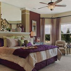 Contemporary Bedroom by David Weekley Homes