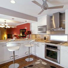 Contemporary Kitchen by BAUSCHER CONSTRUCTION & REMODELING INC