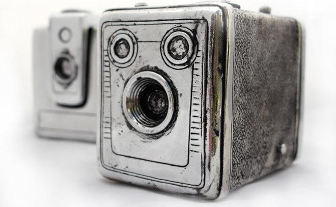 Artwork Lafayette & Rushford Vintage Camera Box