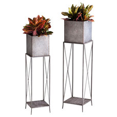 Traditional Outdoor Planters by Chachkies