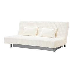 IKEA of Sweden - BEDDINGE Sofa bed slipcover - Sofa bed slipcover, Genarp white