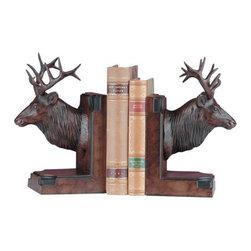 EuroLux Home - Elk Head Cast Resin OK-391 - Product Details