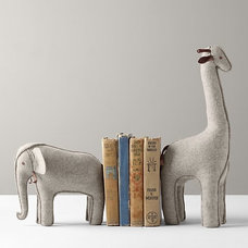 Wool Felt Animal Bookend Wool Felt Animal Bookend