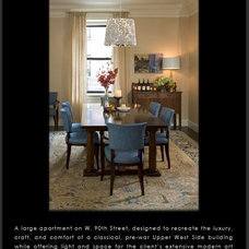 Traditional Dining Room by Anik Pearson Architect, P.C.
