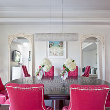 Traditional Dining Room by Emily Ruddo