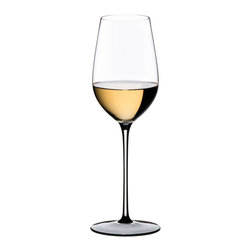 Riedel - Riedel Sommeliers Black Tie Riesling Grand Cru Wineglass - Raise the right glass to enjoy your wine even more. Lead crystal  stemware designed specifically for Riesling Grand Cru enhances your pleasure and looks proper on your table.