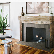 modern fireplaces by Studio 81/69
