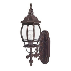 Design Outdoor Lanterns. Traditional Wall-Mount 20.75 in. Outdoor Old Bronze Lan