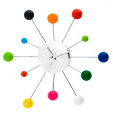 modern clocks by Bungalow Kids