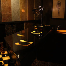 Indoor Pub And Bistro Tables by Architectural Justice