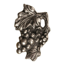 Anne at Home Hardware - Grape Cluster Knob, Antique Bronze - Made in the USA - Anne at Home customized cabinet hardware enables even the most discriminating homeowner to achieve the look of their dreams.  Because Anne at Home cabinet hardware is designed to meet your preferences, it may take up to 3-4 weeks to arrive at your door. But don't let that stop you - having customized Anne at Home cabinet knobs and pulls are well worth the wait!   - Available in many finishes.