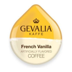 Gevalia - Gevalia 16-Count French Vanilla Blend T DISCs for Tassimo Beverage System - Enjoy a fresh cup of any hot beverage any time with these patented T-discs, for use with the Tassimo Beverage System.