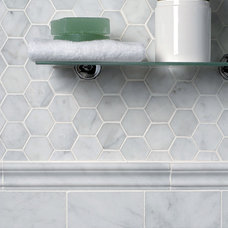 Traditional Tile by Marble Systems, Inc.