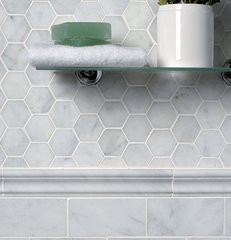 traditional bathroom tile by Marble Systems, Inc.