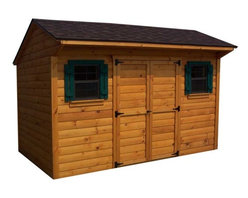 Fifthroom - Cedar Tongue & Groove Saltbox Sheds -