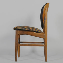 ON SALE: WAS $4200 NOW $3000 Danish Teak Dining Chairs, Set of 4: - Vintage 1960s Scandinavian Side Chairs.