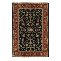 Regency 7000-25 Red Rug - Mystical Garden is a statement of style and personal taste. Completely handcrafted from 100% virgin wool,? this collection of timeless designs offers the flexibility and durability for today's hectic lifestyle while offering elegance and beauty rarely seen. Hand crafted in India.