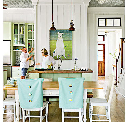 eclectic kitchen Coastal Living
